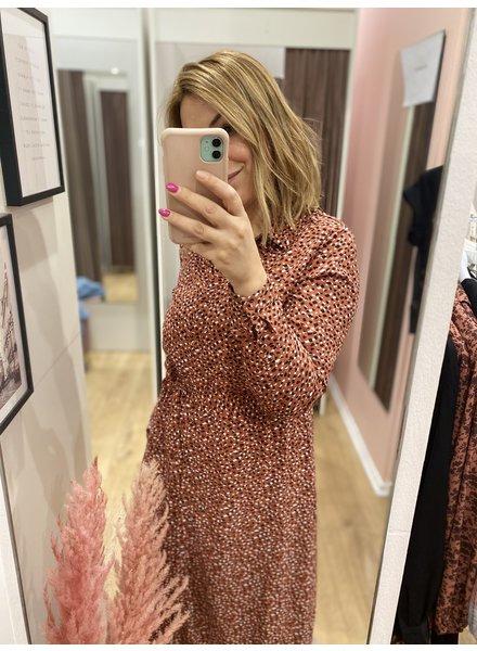 LM Sylvie Dress Pink/Black