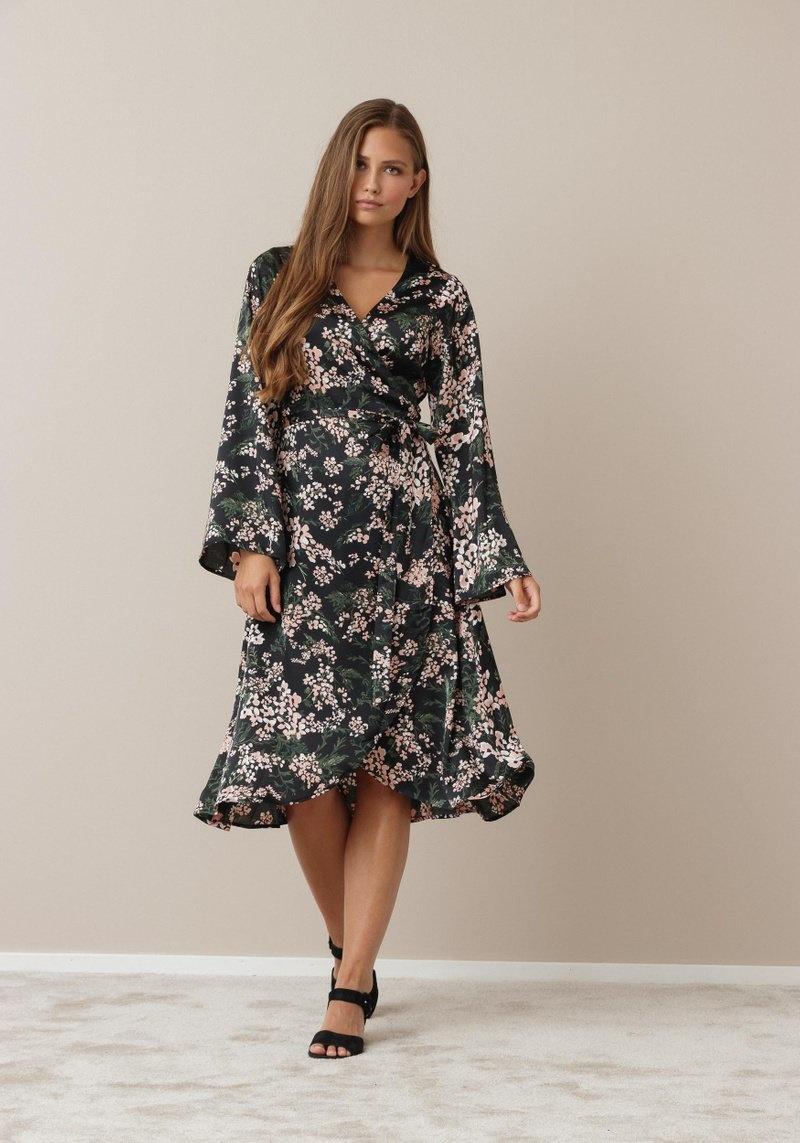 DL Black Flower Dress