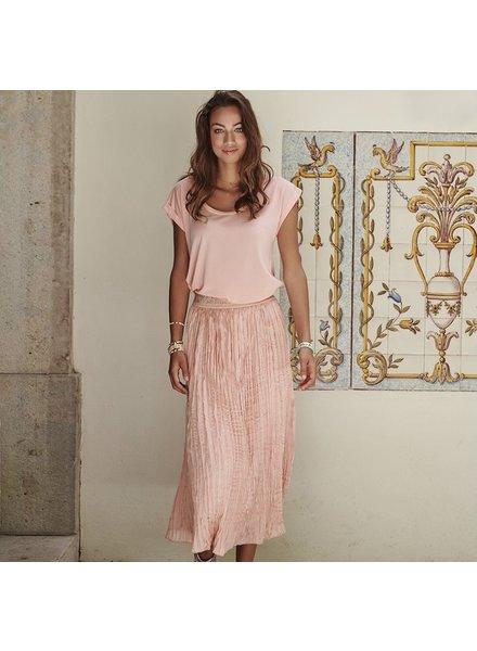 ES Skirt Fancy Waistband Coral