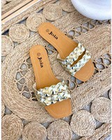 PF Slippers Gold