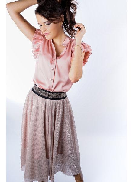 YENTLK Shiny Skirt Coating