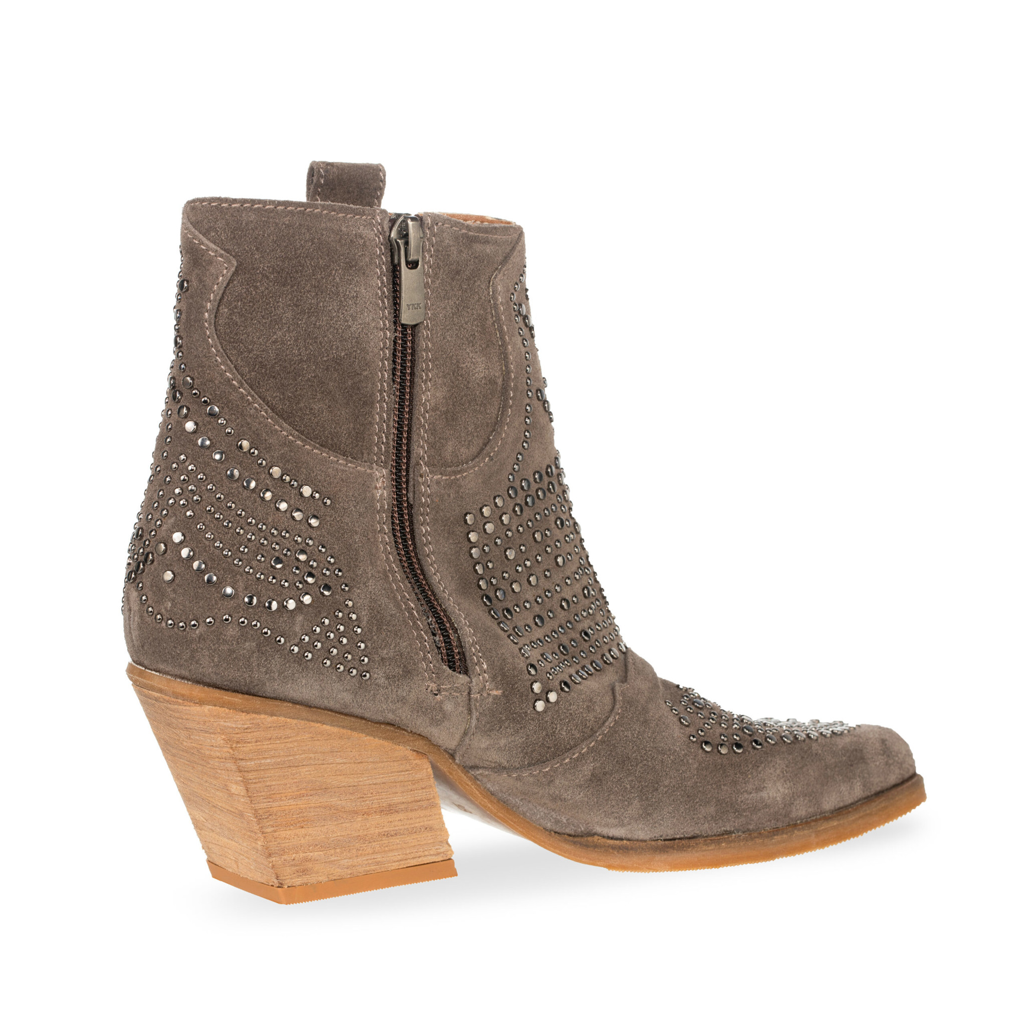 BB Boots Studs Taupe
