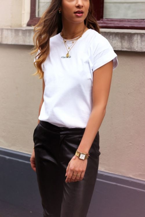 MJ Ciao Bella T-Shirt Wit