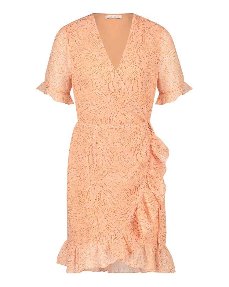 FB Rosalee Peach Dress