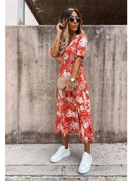 TS Eleisa Dress Orange