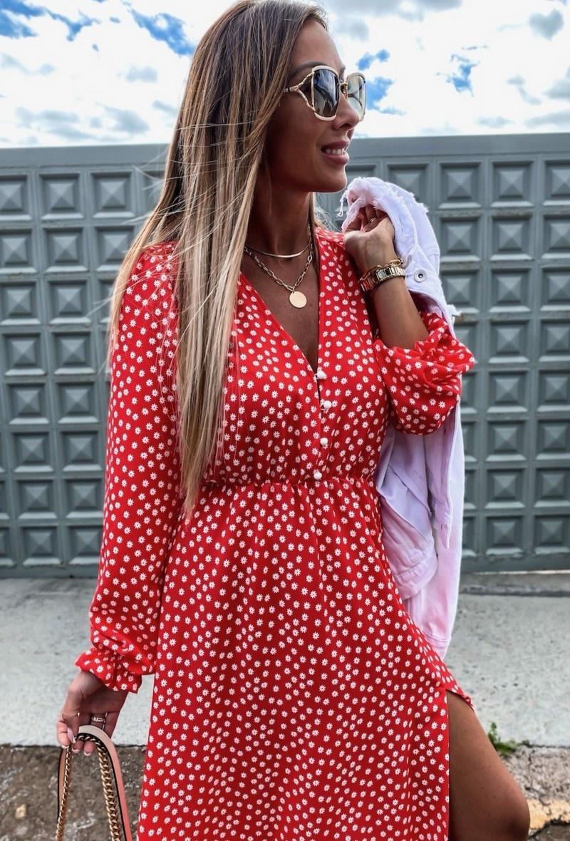 TS Eleisa Dress Red