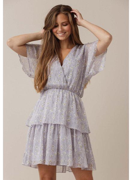 DL Livia Dress Lilac Flowers