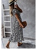 TS Larissa Dress Daisy Flower Black