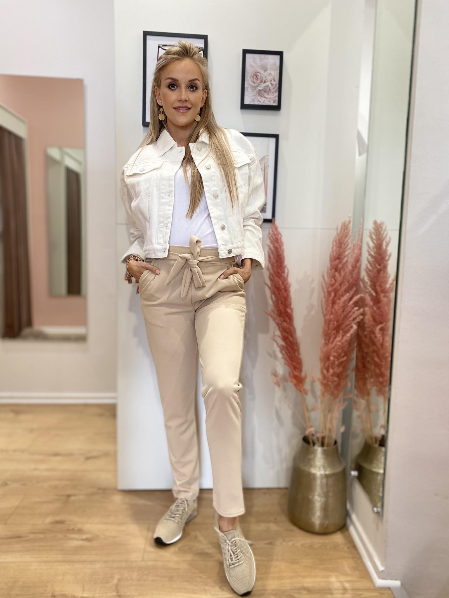 ES Oversized Jacket White