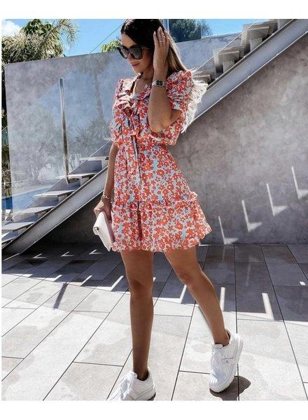 TS Liv Dress  Flowers