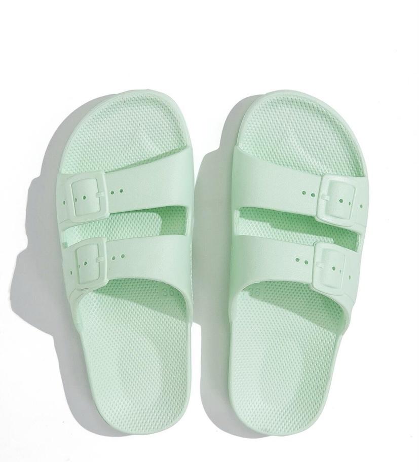 FM Fancy Slippers Mint