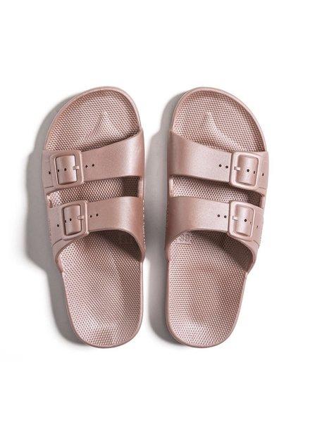 FM Fancy Slippers Metallic Pink