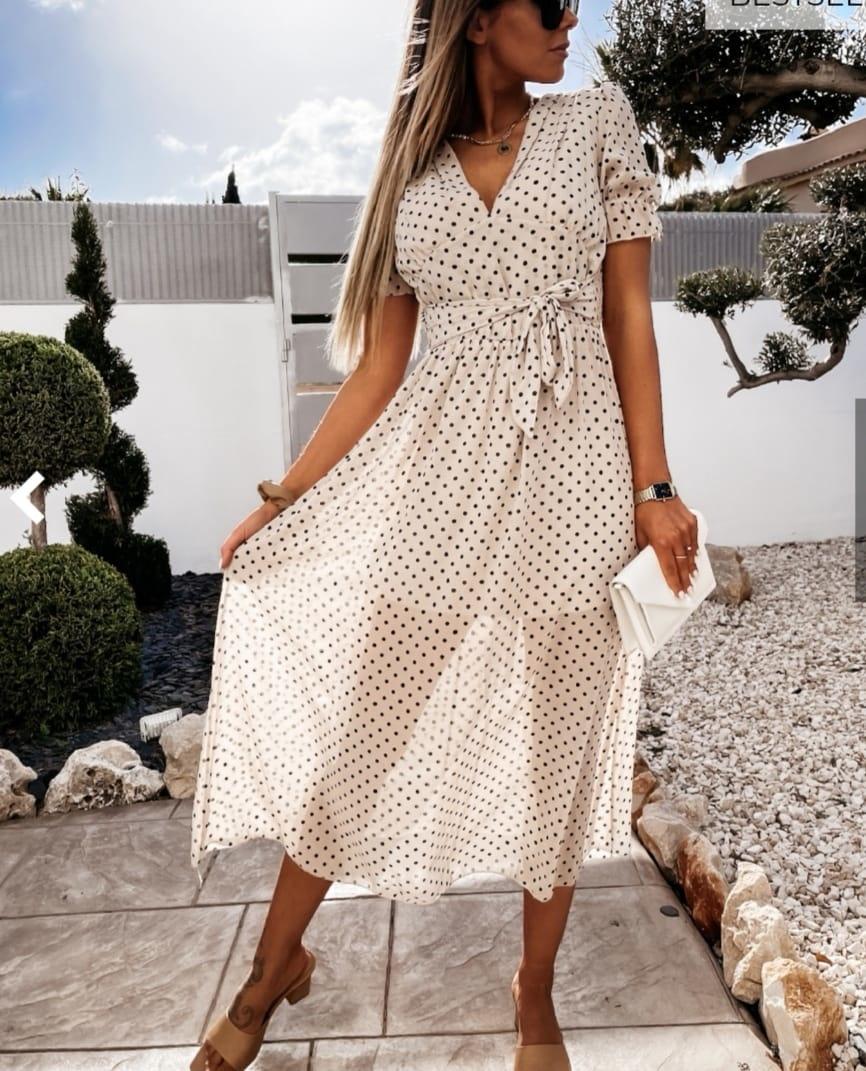 TS Eva Dot Dress