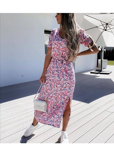 TS Eleisa Dress Pink/Blue