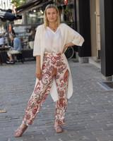 AA Anaïs Wide Trousers Print