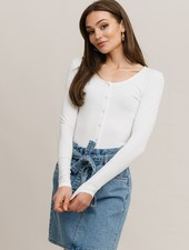 RC Lisa Top Off-White