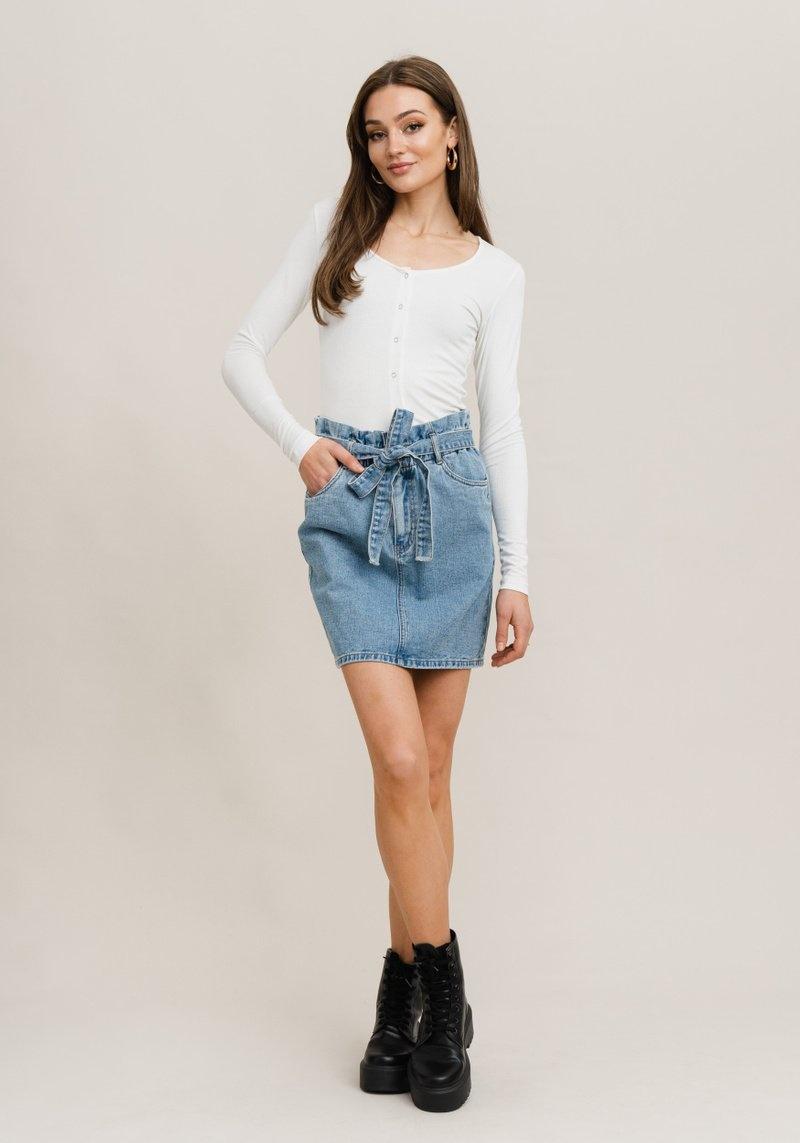 RC Daniella Denim Skirt