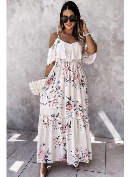 TS Lisa Long Summer Dress Flowers