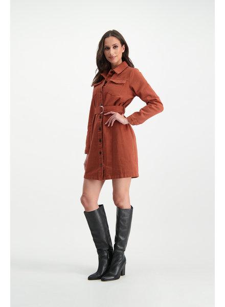 LM Jess Dress Rust