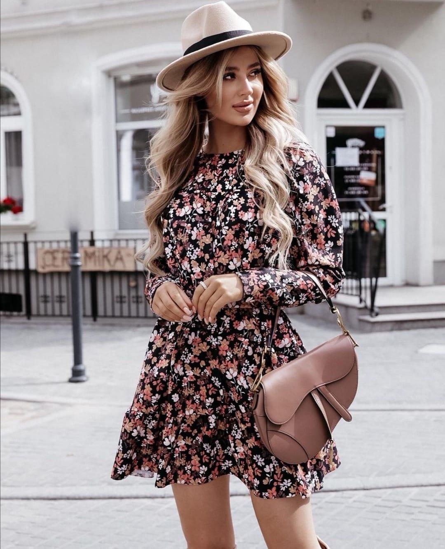 TS Isa Dress Brown Tone