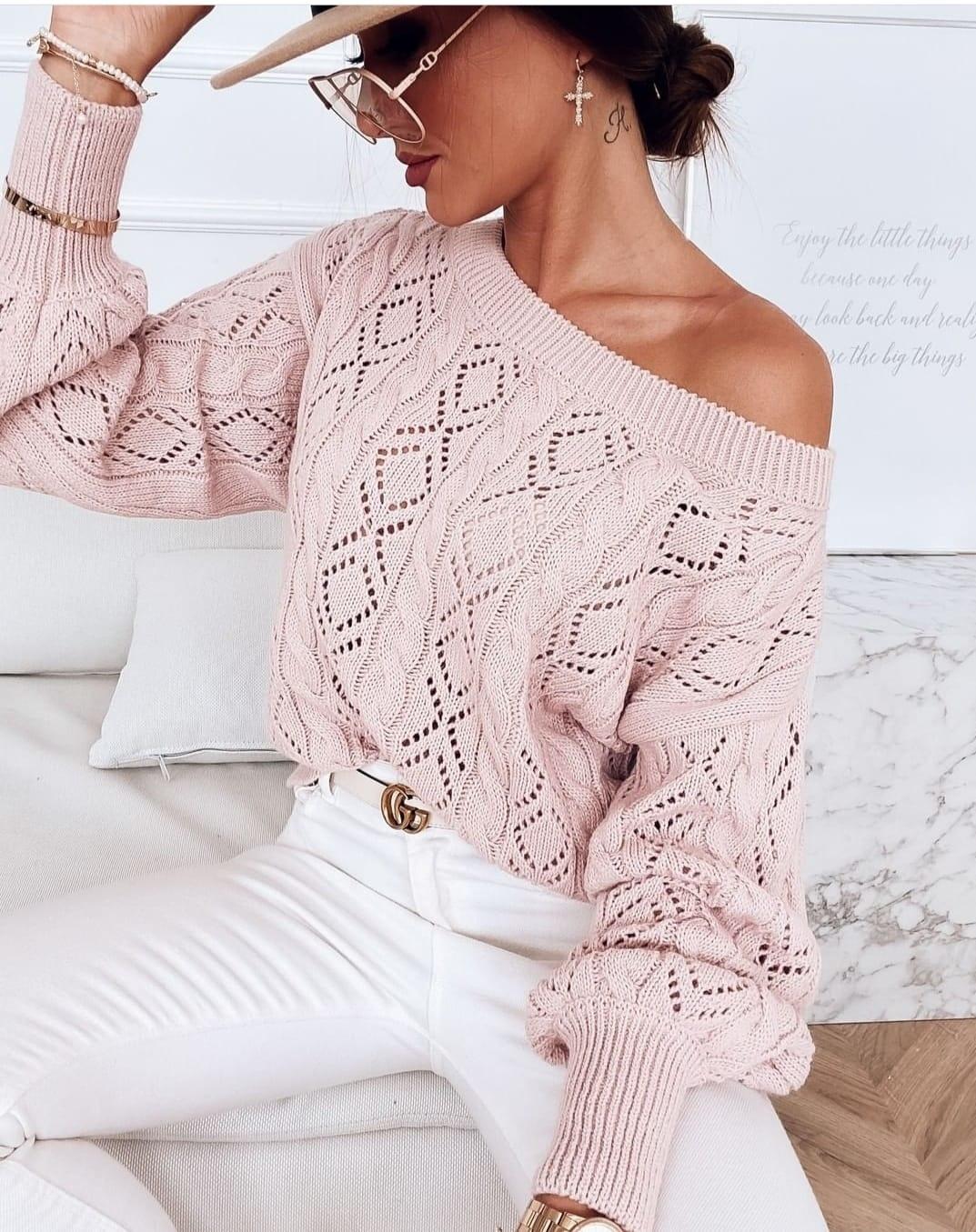 TS Light Pink Knit