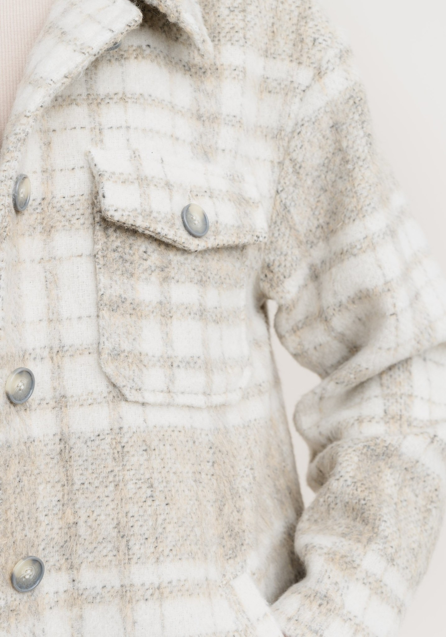 RC Becky Check Coat