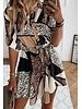 TS Elodie Short Chemisier Dress Print