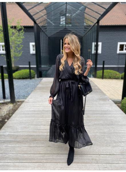 YENTLK Yentl Party Dress Black