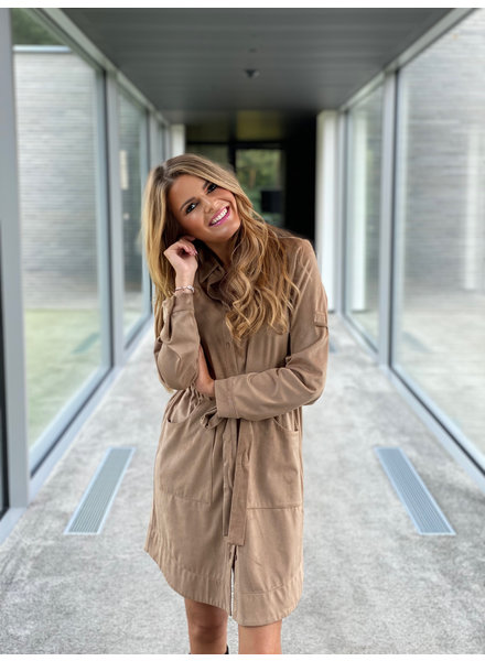 YENTLK Yentl Suède Dress
