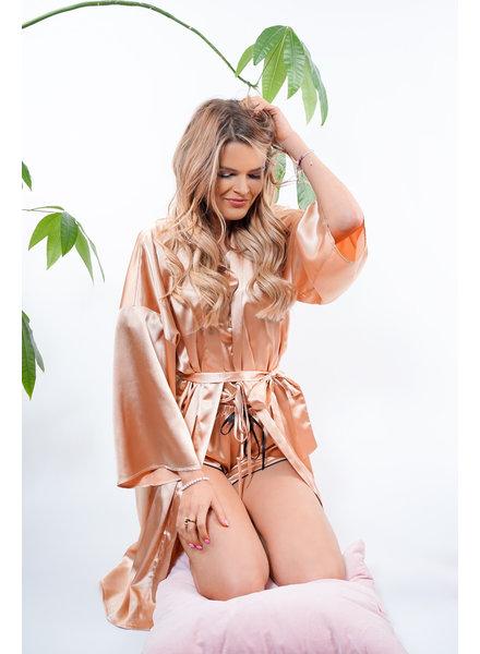 YENTLK Kimono Beige
