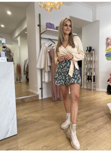 LM Skirt Ciara Green White