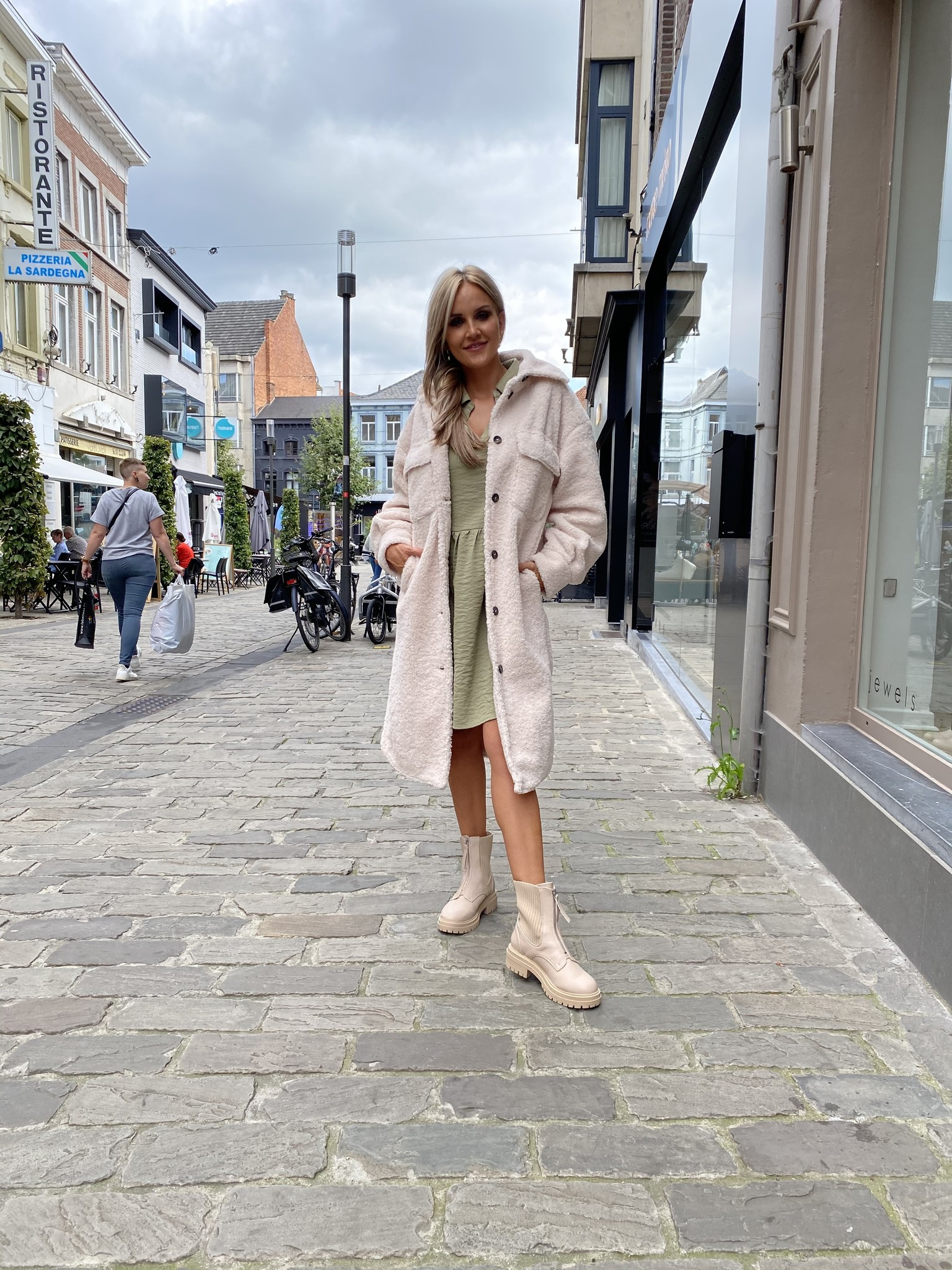 ES Coat Long Teddy