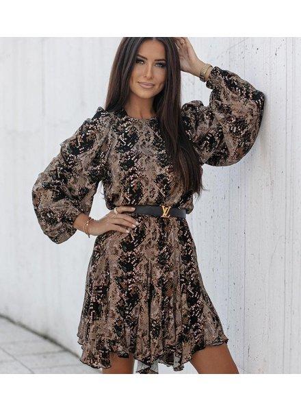 TS Lima Dress Snake