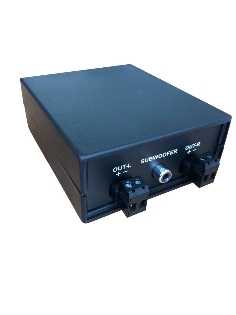 Audio Innovations AI-1203-ESC 2.1 speaker kit (AI speakers, Elac subwoofer, crossover filter)