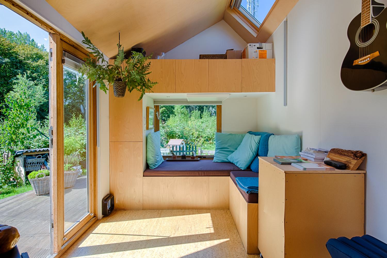 Foto tiny house Marjolein Jonker