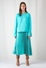 Frenken Fringe skirt aqua