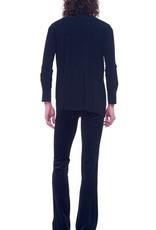 Norma Kamali Boyfriend shirt - black