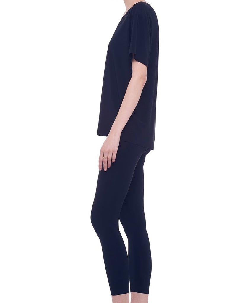 Norma Kamali short sleeve boxy top
