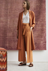 Wright Loose terracotta trousers