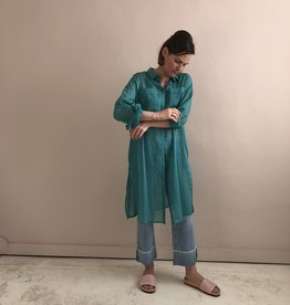 Wright Aqua green tunic