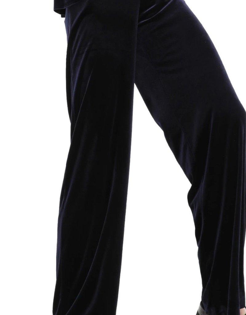 Norma Kamali Straight leg pants - midnight blue