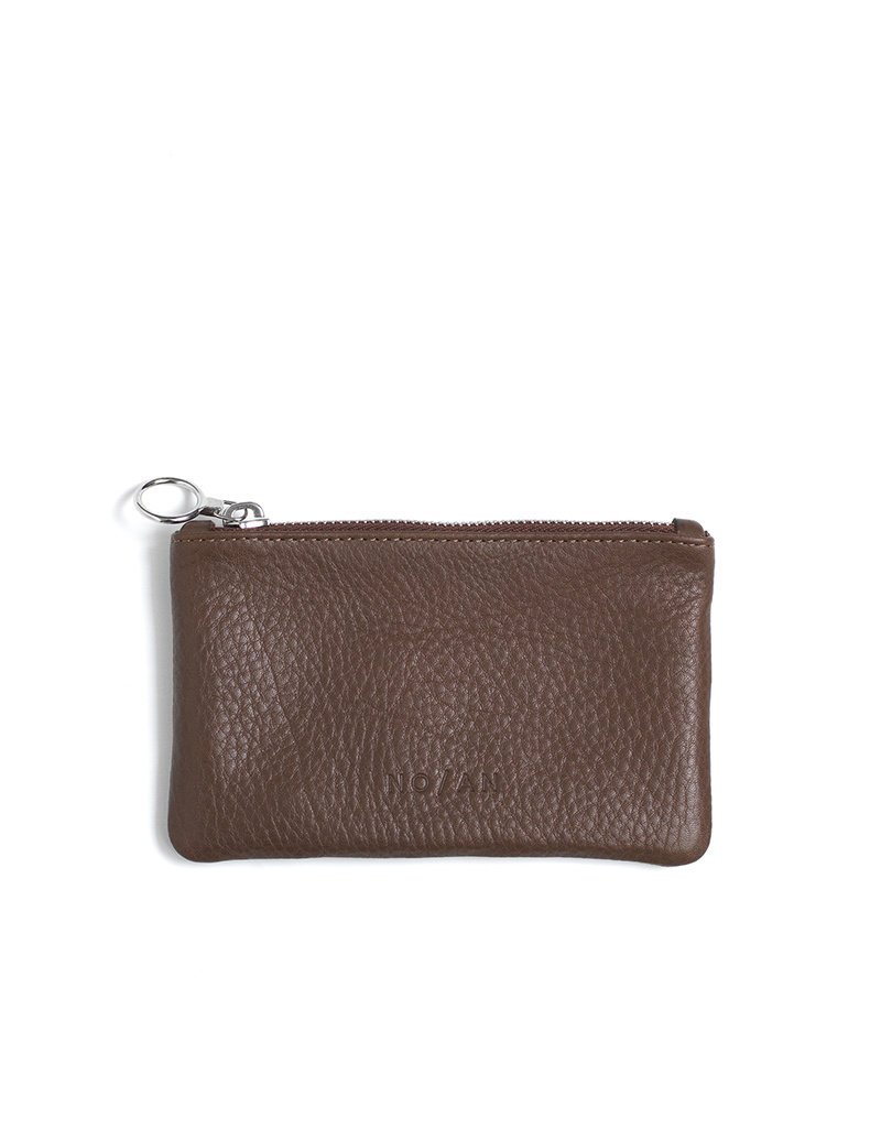 NO/AN Leather Pouch Brown