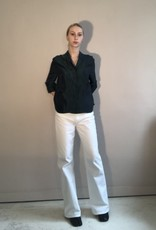Lois white flaired jeans