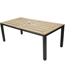 "TAHITI POLYTEAK DINING TABLE 71""x40""x30"""