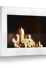 Anywhere Fireplace SoHo White Fireplace