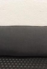 "Sunset West USA Canvas Coal 9""x22"" Pillow"