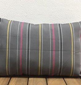 Gotcha Covered Grey w/Pink & Yellow Stripe Lumbar