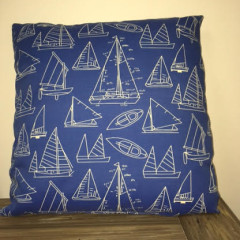 Gotcha Covered Sail Boat Pillow 20""