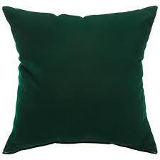 """Gotcha Covered Forest Green Sunbrella 14"""" Pillow"""