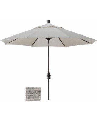 California Umbrella 9' Collar Tilt - Olefin Woven Granite